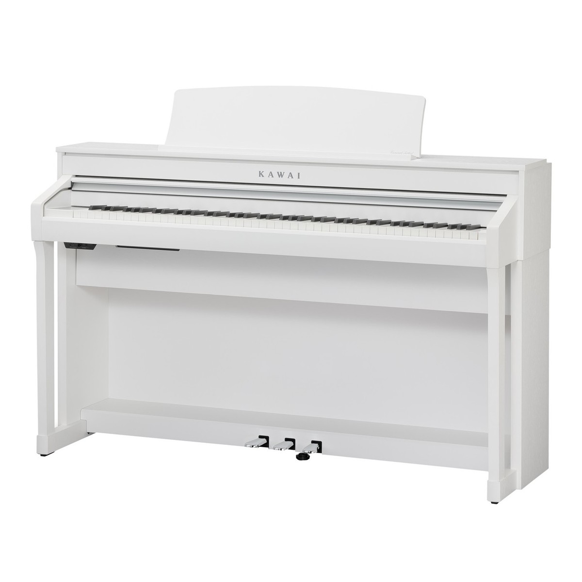 kawai ca78 digital piano satin white at gear4music. Black Bedroom Furniture Sets. Home Design Ideas