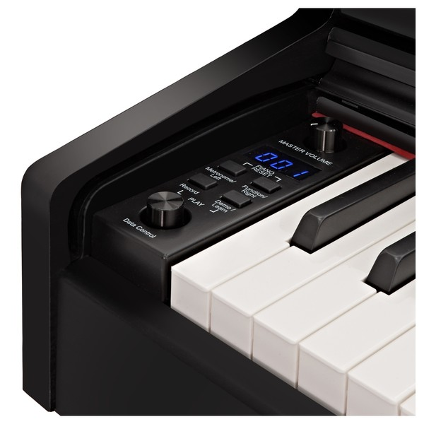 DP-10X Digital Piano by Gear4music, Gloss Black