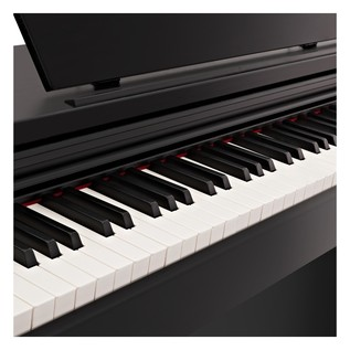 DP-10X Digital Piano by Gear4music + Piano Stool Pack, Gloss Black