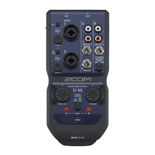 Zoom U-44 USB Audio Interface - Top