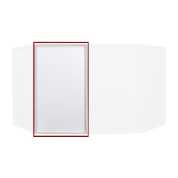 Equinox Foldable DJ Screen Replacement Lycra Cloth, White (Single) 1