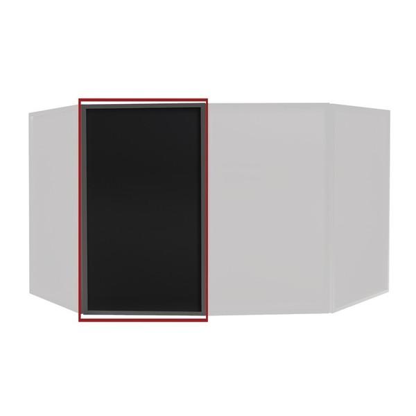 Equinox Foldable DJ Screen Replacement Lycra Cloth, Black (Single) 1