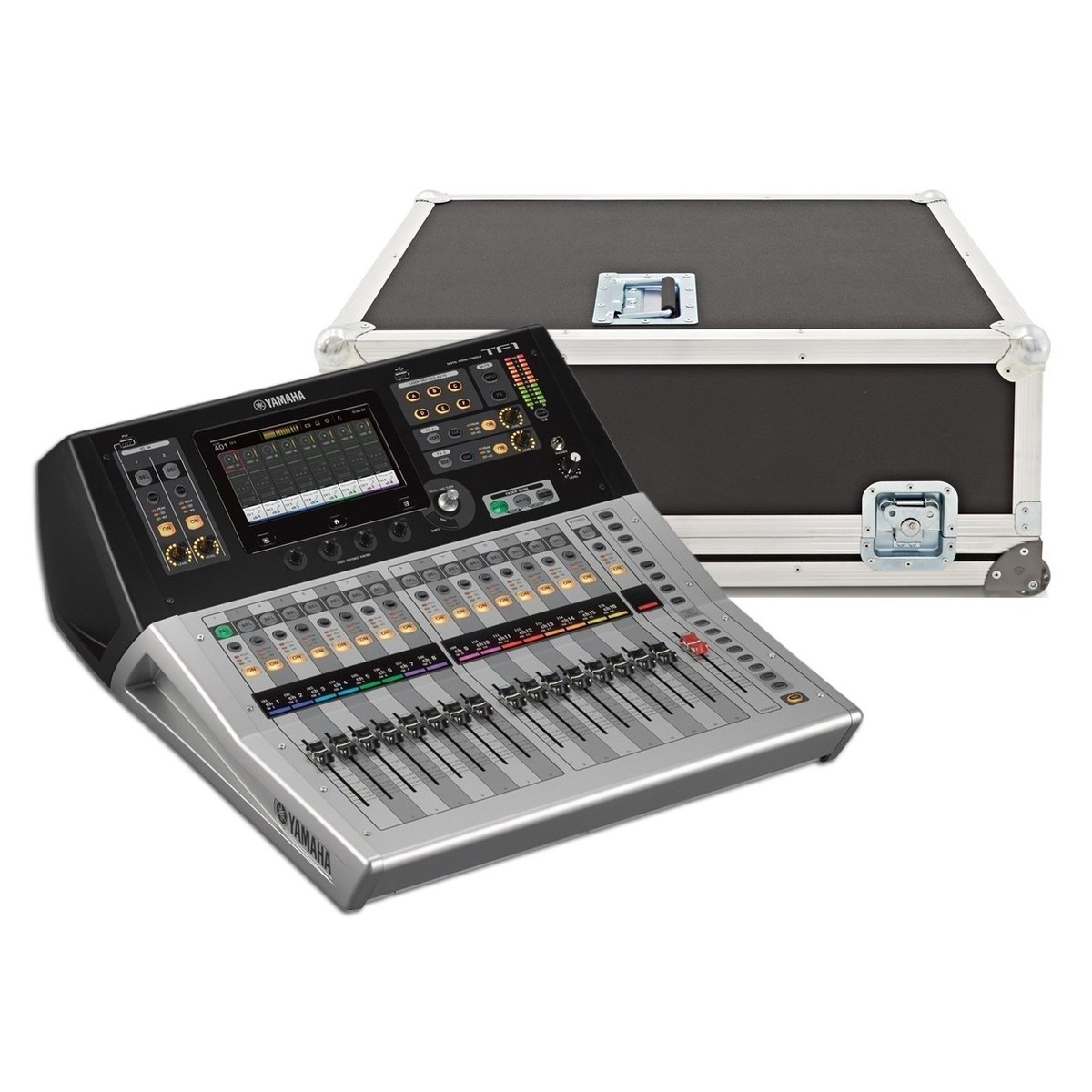 yamaha touchflow tf1 16 channel digital mixer with case at. Black Bedroom Furniture Sets. Home Design Ideas