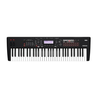 Korg Kross 2 61 Key Synthesizer Workstation, Matt Black - Top