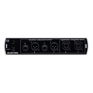 PreSonus BlueTube DP Preamp V1 Rear