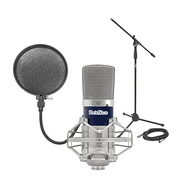 SubZero SZC-400 Condenser Microphone Studio Pack Main
