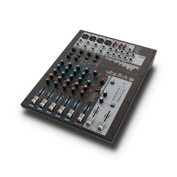 LD Systems VIBZ 8 DC Analog Mixer with DFX and Compressor
