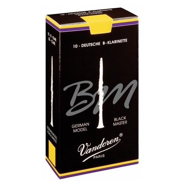 Vandoren Reeds Bb Clarinet, 5 Black Master