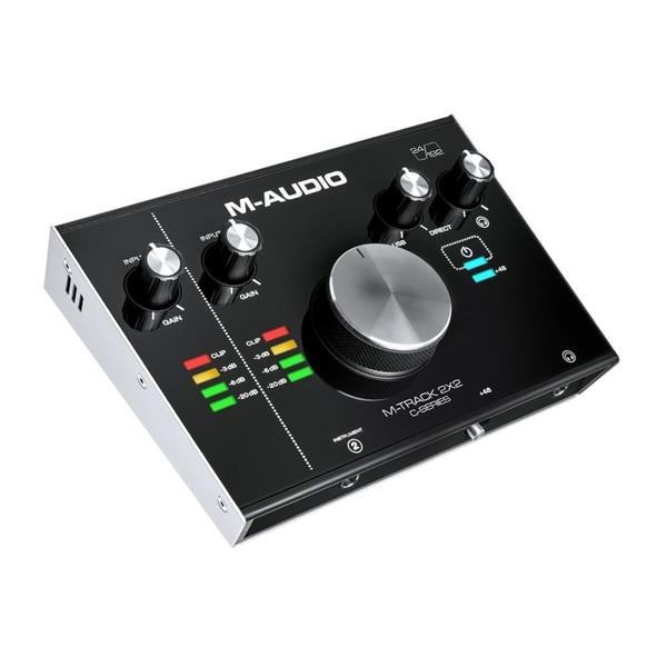 M-Audio M-Track 2x2 USB Audio Interface - Angled 2