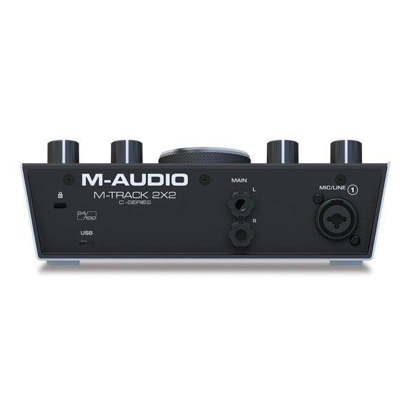 M-Audio M-Track 2x2 - Rear