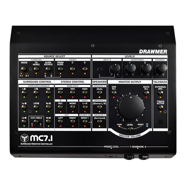 Drawmer MC7.1 Surround Monitor Controller - Top