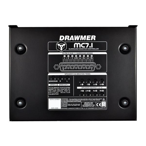 Drawmer MC7.1 Surround Monitor Controller - Underneath