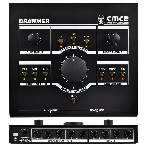 Drawmer CMC2 Compact Monitor Controller Top