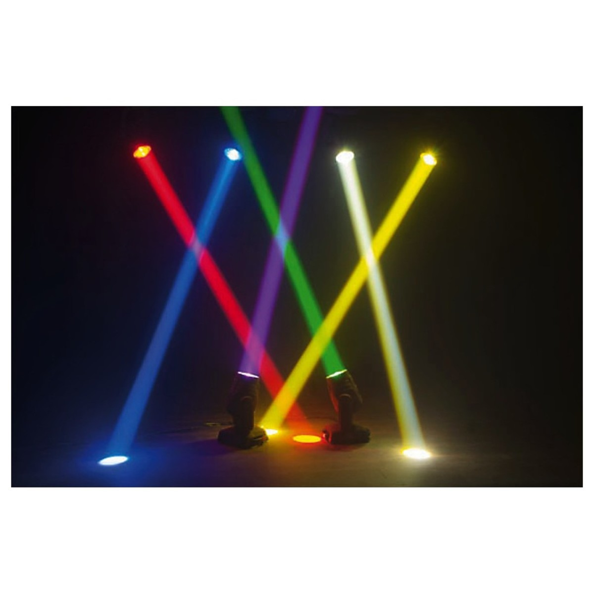 img stage line beam  IMG Stageline BEAM-100LED Professional LED Beam Moving Head at ...