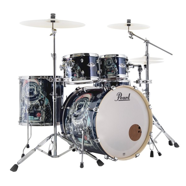 pearl exa limited edition space monkey 22 39 39 5pc drum kit w hardware at gear4music. Black Bedroom Furniture Sets. Home Design Ideas