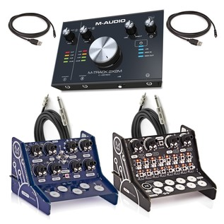 Modal CRAFTrhythm And CRAFTsynth With M-Audio Interface And Cables - Bundle
