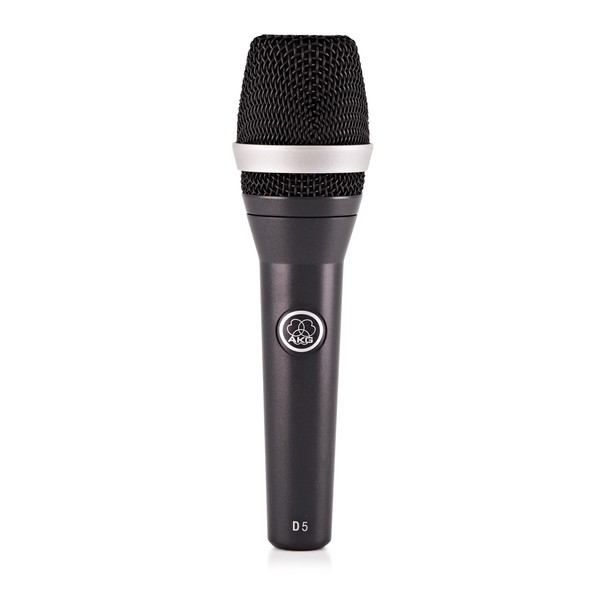 AKG D5 Dynamic Lead Vocal Mic - Front
