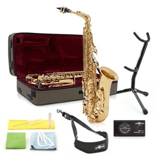 Rosedale Professional Alto Sax Players Pack, By Gear4music