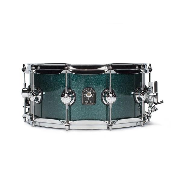 Natal Café Racer 14'' x 6.5'' Snare Drum,British Racing Green