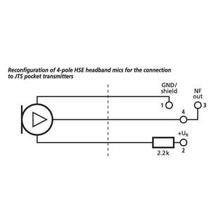 Monacor HSE-310/SK Professional Headband Microphone 2