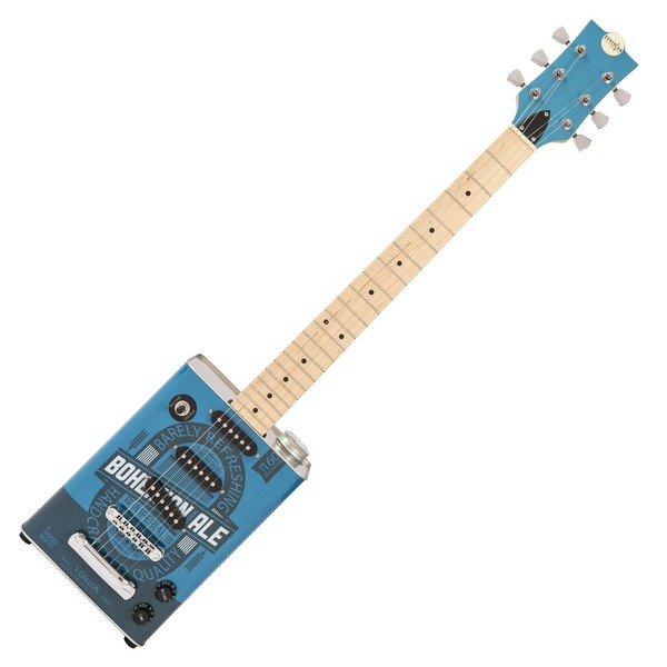 Bohemian Oil Can Electric Guitar, Bohemian Ale Front View