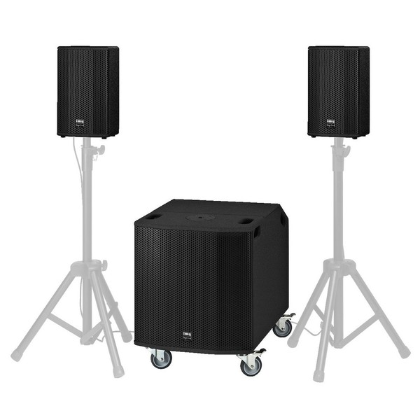 IMG Stageline PROTON-15MK2 Portable PA System 1