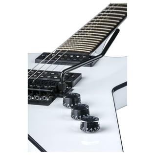 Dean ML 79 Floyd Electric Guitar, Classic White Close