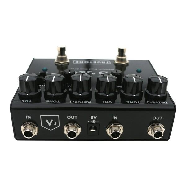 truetone tt v3xo v3 premium dual overdrive pedal at gear4music. Black Bedroom Furniture Sets. Home Design Ideas