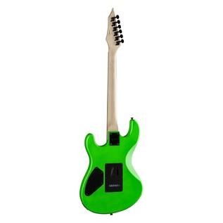 Dean Custom Zone Electric Guitar, Neon Green Back