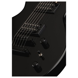 Dean EVO XM Electric Guitar, Classic Black Close