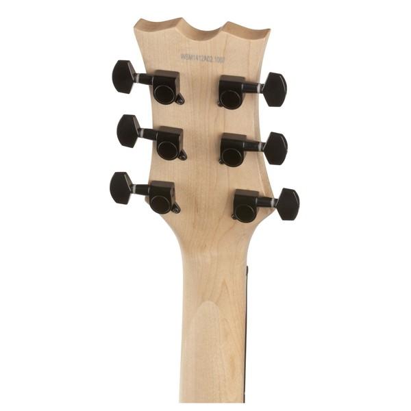 Dean EVO XM Electric Guitar, Classic Black Head back