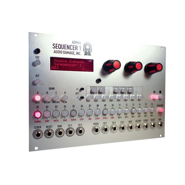 Audio Damage ADM06 Sequencer 1 Lights
