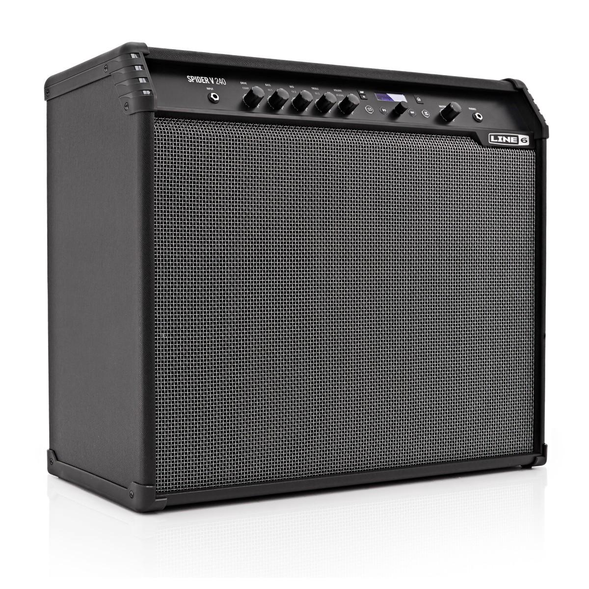line 6 spider v 240 guitar combo amp at gear4music. Black Bedroom Furniture Sets. Home Design Ideas