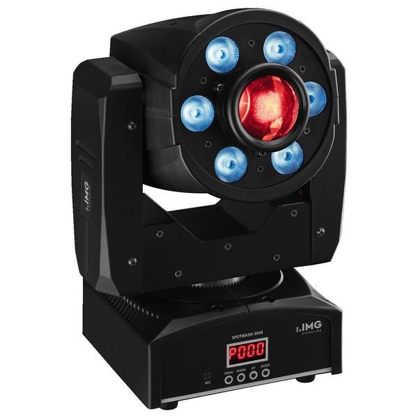 IMG Stageline SPOTWASH-3048 LED Moving Head Spotlight 1