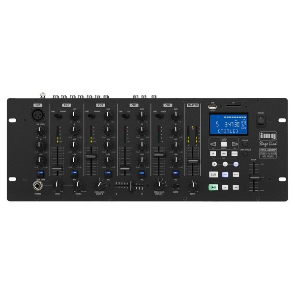 IMG Stageline MPX-40DMP Stereo DJ Mixer & MP3 Player 1