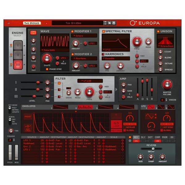 Propellerhead Reason 10 Upgrade from Adapted/Limited - Europa