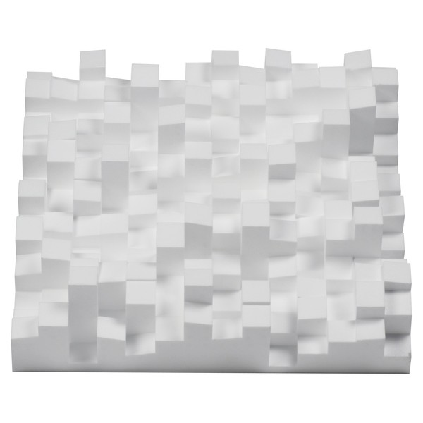 Vicoustic Multifuser DC2 Acoustic Panel White, Box of 6 - Front