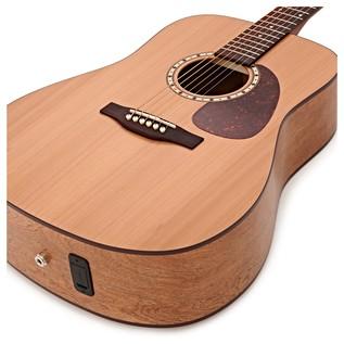 Simon & Patrick Woodland Cedar Electro Acoustic Guitar