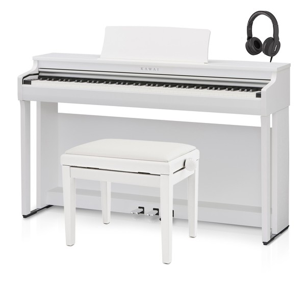 Kawai CN27 Digital Piano, Satin White Package