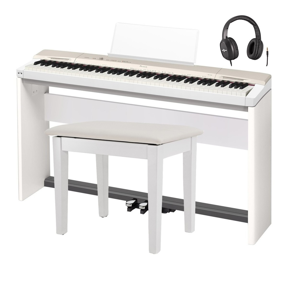 75ab17b0caf Casio Privia PX-160 Piano Pack. Loading zoom