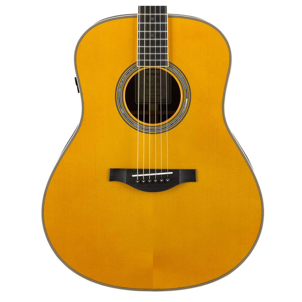 yamaha ll ta transacoustic guitar vintage tint b stock. Black Bedroom Furniture Sets. Home Design Ideas
