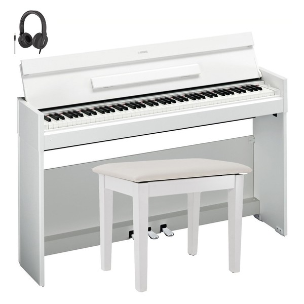 Yamaha YDP S52 Digital Piano Package, White