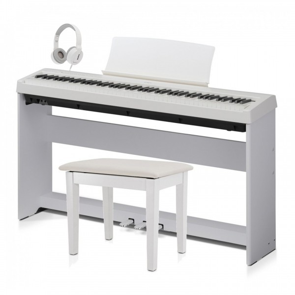 Kawai ES110 Digital Stage Piano Deluxe Package, White