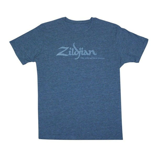 Zildjian Heathered Blue T-Shirt, Medium