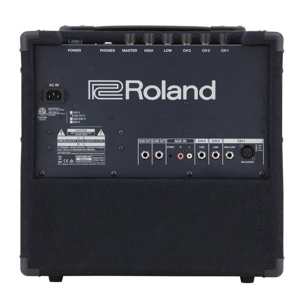 Roland KC-80 Amplifier Back