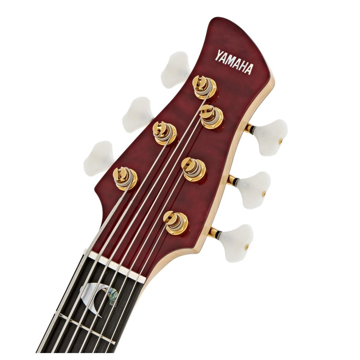 Yamaha trbjp2 john patitucci 6 string bass rojo oscuro for Yamaha 6 string bass
