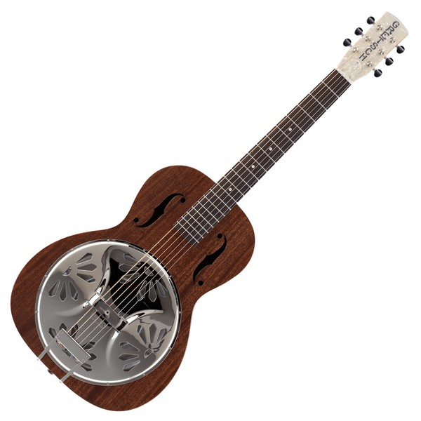 Gretsch G9200 Boxcar Resonator, Round Neck, Natural Main Image