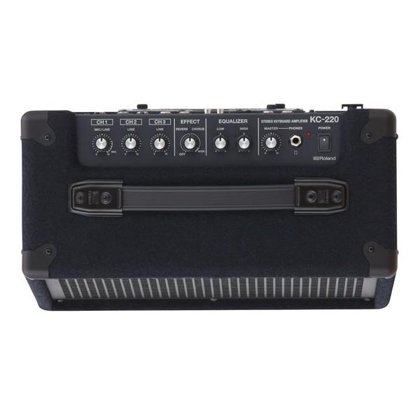 Roland KC-220 Amplifier Controls