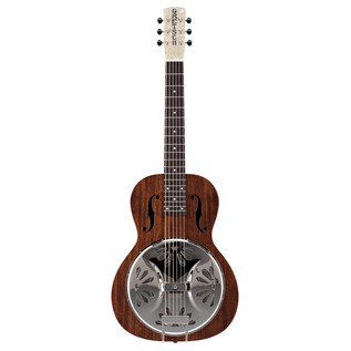 Gretsch G9210 Boxcar Resonator, Square Neck, Natural Front view