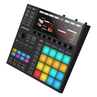 Native Instruments Maschine MK3 with Komplete 11 Ultimate - Angled 4
